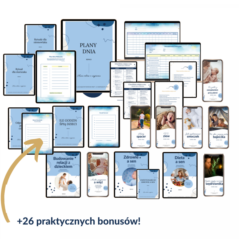 kurs online usypianie dzieci krok po kroku